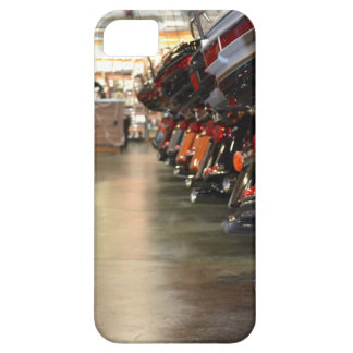 Tailpipes of New Harleys in the Showroom iPhone 5 Covers