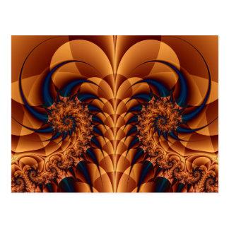 Tails Fractal Postcard