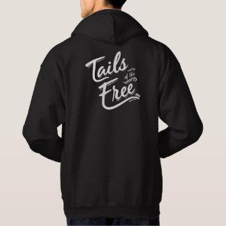 Tails of the Free dark hoodie