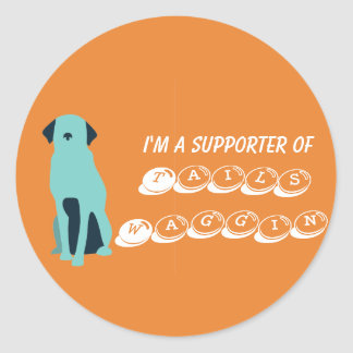 Tails Waggin' Charity sticker sheet (summer range)