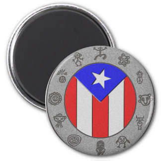 Taino Wheel Magnet