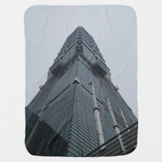 Taipei 101 Baby Blanket
