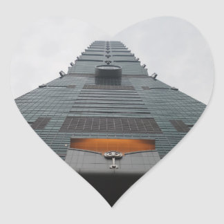 Taipei 101 View Heart Sticker