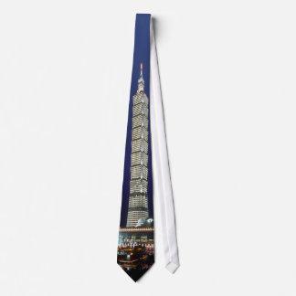 Taipei 101 World's Tallest Building Tie