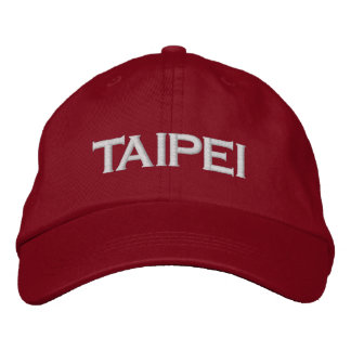 Taipei, Taiwan Embroidered Hat
