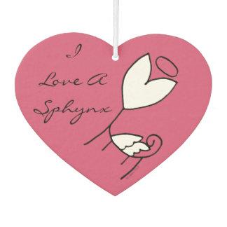 Tai's Sphynx Angel I Love a Sphynx Air Freshener