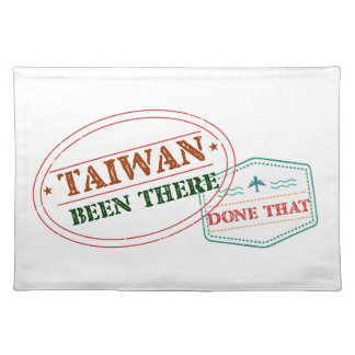Taiwan Been There Done That Placemat