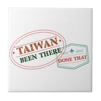 Taiwan Been There Done That Tile