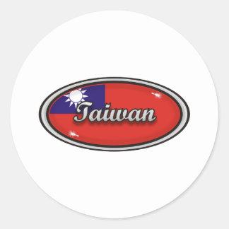 Taiwan Classic Round Sticker