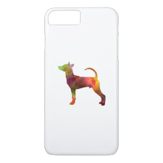 Taiwan Dog in watercolor iPhone 7 Plus Case