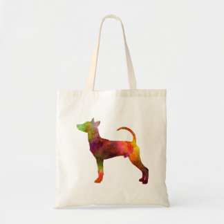 Taiwan Dog in watercolor Tote Bag