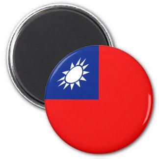 Taiwan Fisheye Flag Magnet