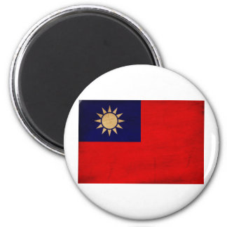 Taiwan Flag 2 Inch Round Magnet
