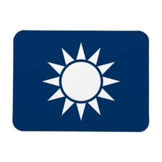 "Taiwan Flag ""Classic"" Rectangular Photo Magnet"