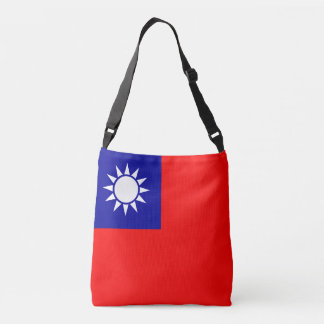 Taiwan Flag Crossbody Bag