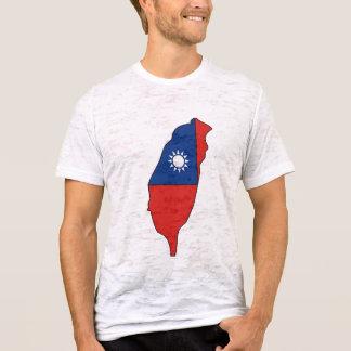 Taiwan flag map T-Shirt