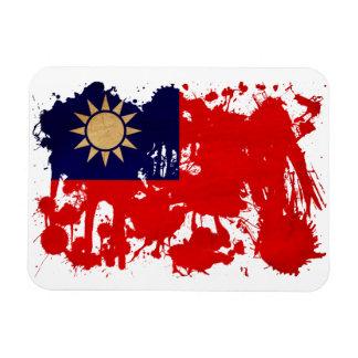 Taiwan Flag Rectangular Photo Magnet
