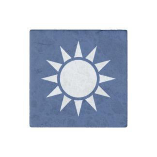 Taiwan Flag Stone Magnets