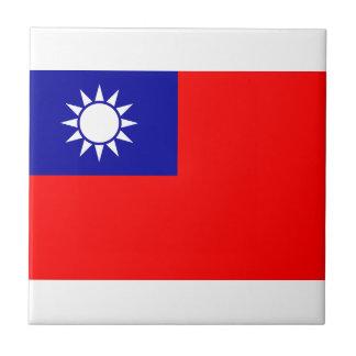 Taiwan Flag Tile