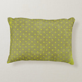 Taiwan Green Polka Dot Reversible Decorative Pillow