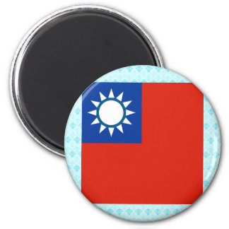 Taiwan High quality Flag 2 Inch Round Magnet