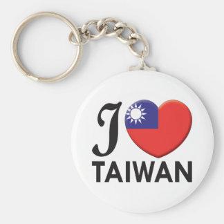 Taiwan Love Keychain