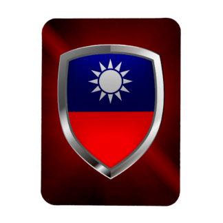 Taiwan Metallic Emblem Magnet