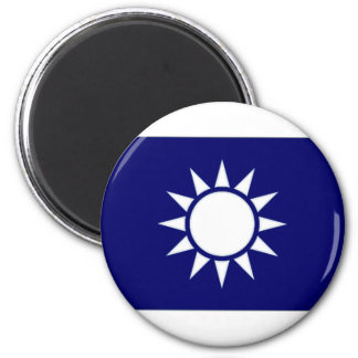 Taiwan Naval Jack 2 Inch Round Magnet