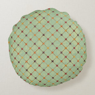 Taiwan Patterned Reversible Round Pillow