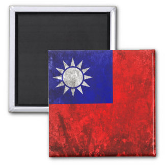 Taiwan Square Magnet