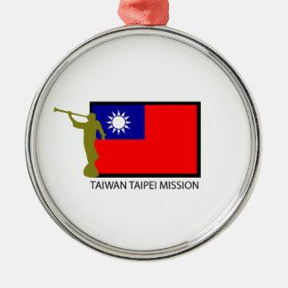 TAIWAN TAIPEI MISSION LDS CTR METAL ORNAMENT