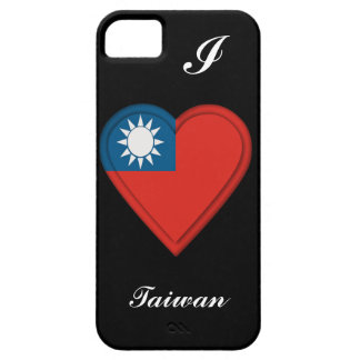 Taiwan Taiwanese flag: ADD TEXT iPhone 5 Covers