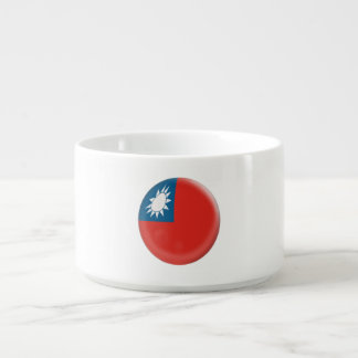 Taiwan Taiwanese Flag Bowl
