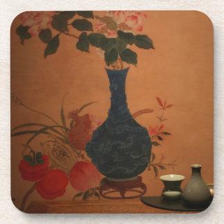 Taiwan vintage art coaster