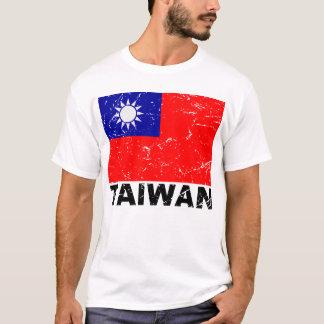 Taiwan Vintage Flag T-Shirt