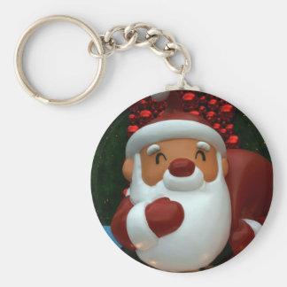Taiwanese Father Christmas Keychain