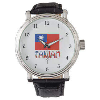 Taiwanese Flag and Taiwan Watch