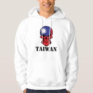 Taiwanese Flag Skull Taiwan Hoodie
