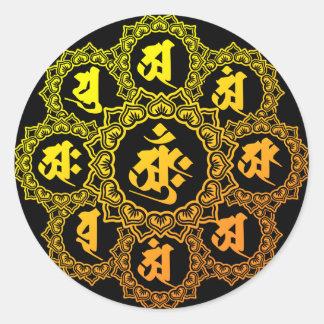 taizo round sticker