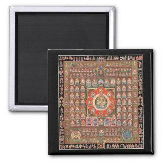 Taizokai Mandala Square Magnet