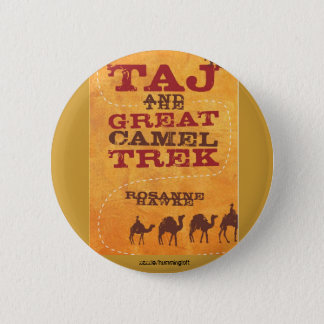 Taj badge 2 inch round button