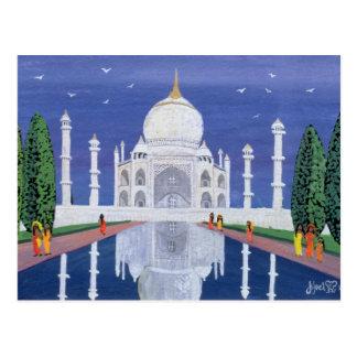 Taj Mahal 1995 Postcard