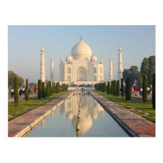 Taj mahal , A famous historical monument Postcard