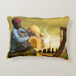 Taj Mahal Accent Pillow