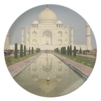 Taj Mahal, Agra, India Plate