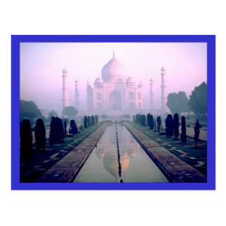 Taj Mahal Agra India Postcard