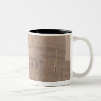 Taj Mahal, Agra, Uttar Pradesh, India 6 Two-Tone Coffee Mug