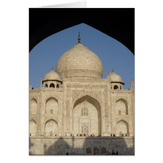 taj mahal arch shadow card