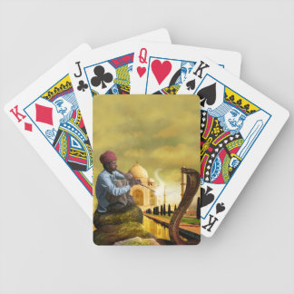 Taj Mahal Bicycle Playing Cards