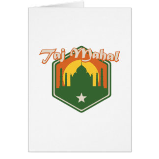 Taj Mahal Card